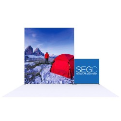 SEGO 10ft x 10ft. Lightbox Modular Display Double Sided Conf. D
